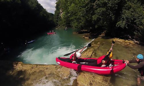 2 days of kayaking on river Mreznica